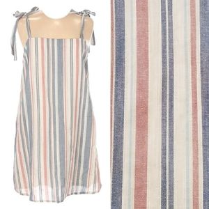 NWOT Madison & Berkeley striped sleeveless dress
